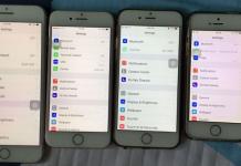 iphone  yellow screen