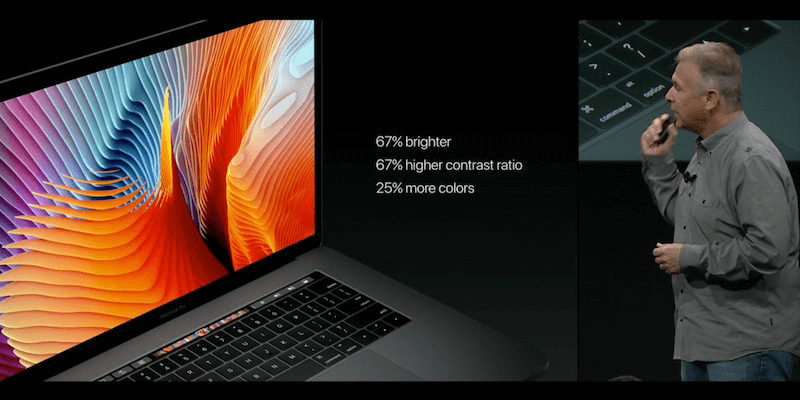 macbook pro 2016 resolution
