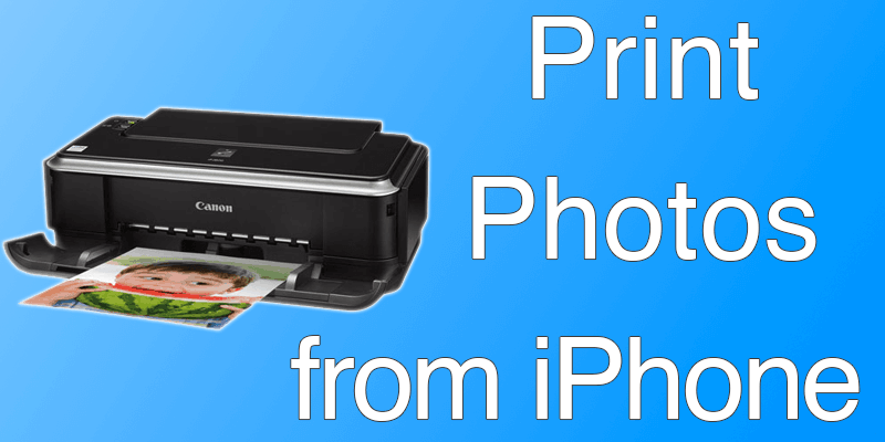 print photos from iphone