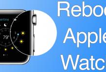 reboot iwatch