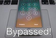 bypass lock screen