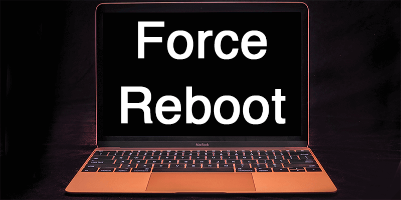 force restart mac
