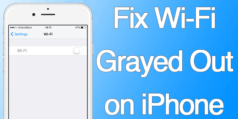 iphone 4s wifi greyed out how to fix wifi grayed out on iphone or quickly 7096
