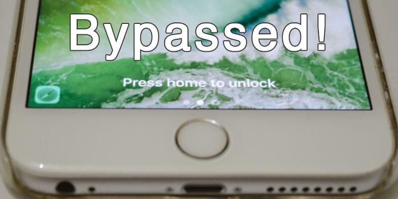 bypass lock screen ios 10.2