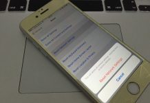 reset network iphone