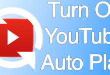 turn off youtube autoplay