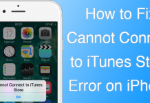 cannot connect to itunes
