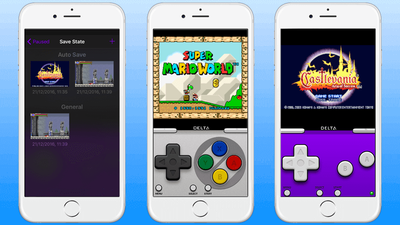 delta emulator for iphone
