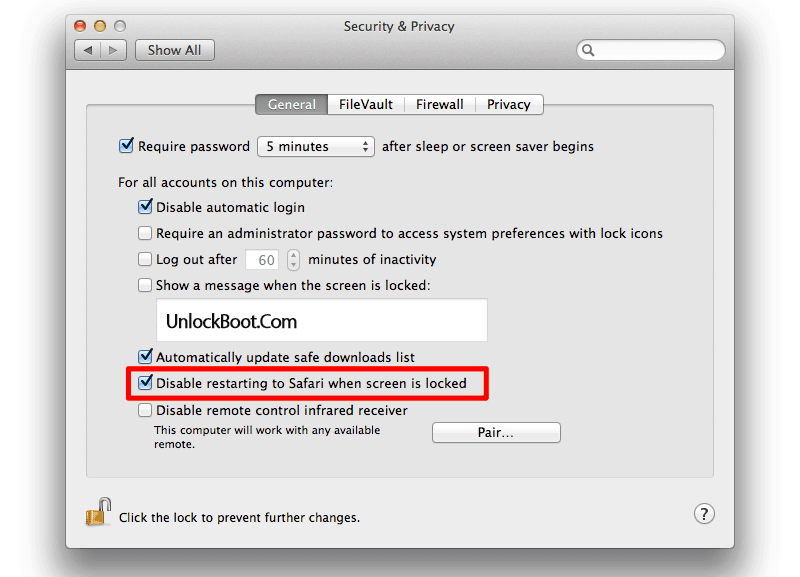 disable guest account on mac