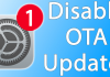 disable ota updates