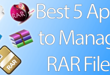 manage rar files mac