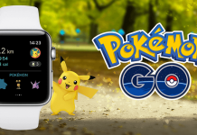 pokemon go iwatch