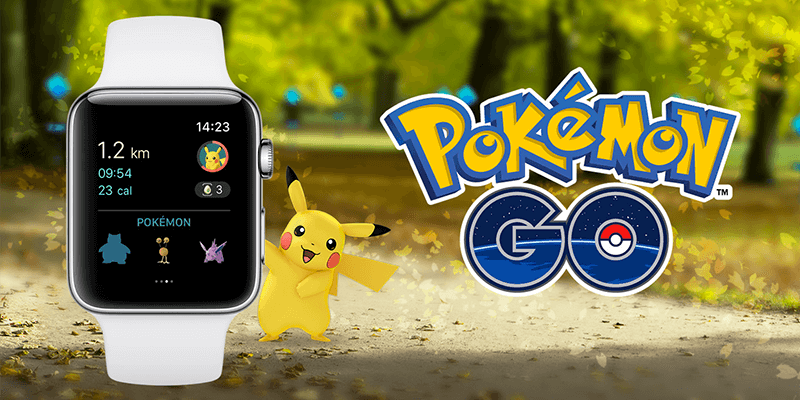 play pokemon go on apple watch