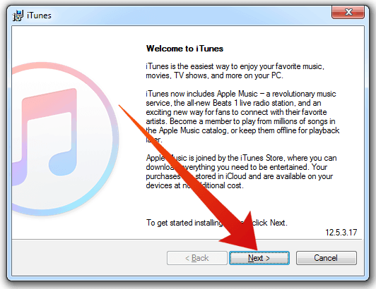 reinstall itunes on pc