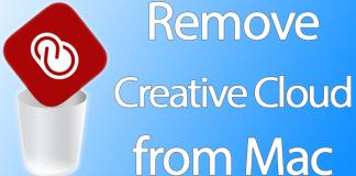 remove creative cloud mac