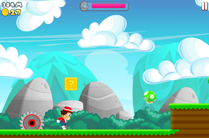 super mario run alternative for android