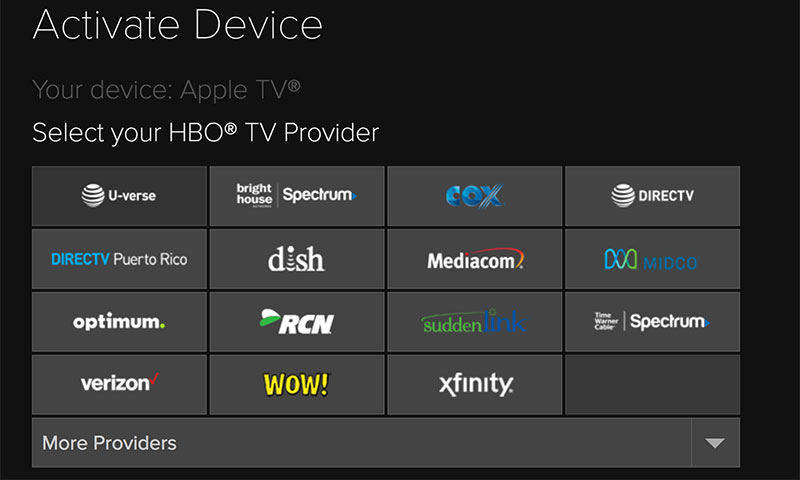 watch hbo go on apple tv