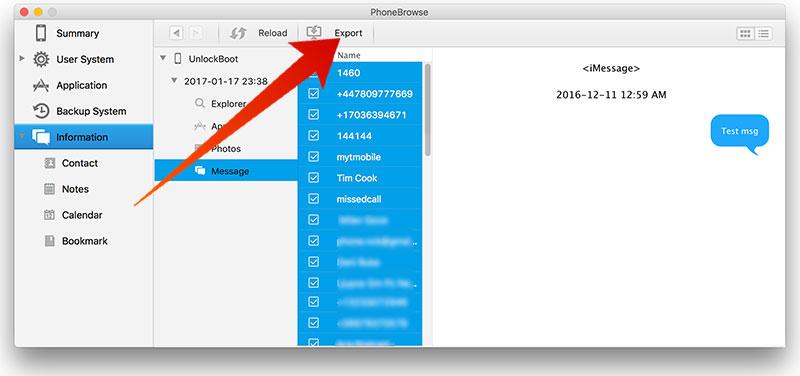 extract itunes backup on mac