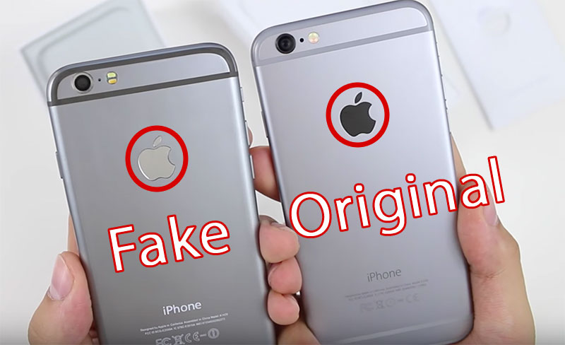 fake vs original iphone