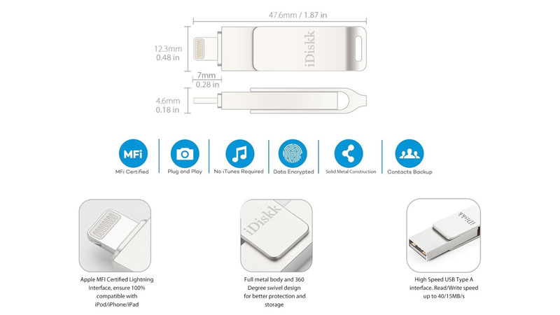 lightning flash drive for iphone