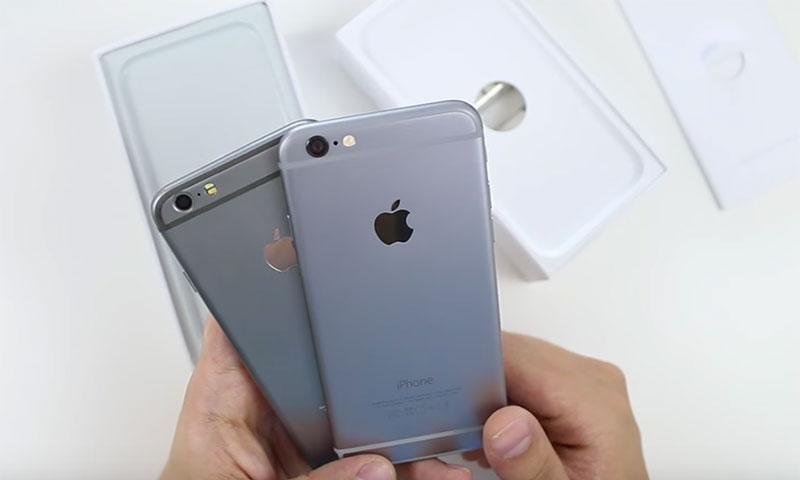 original iphone vs replica