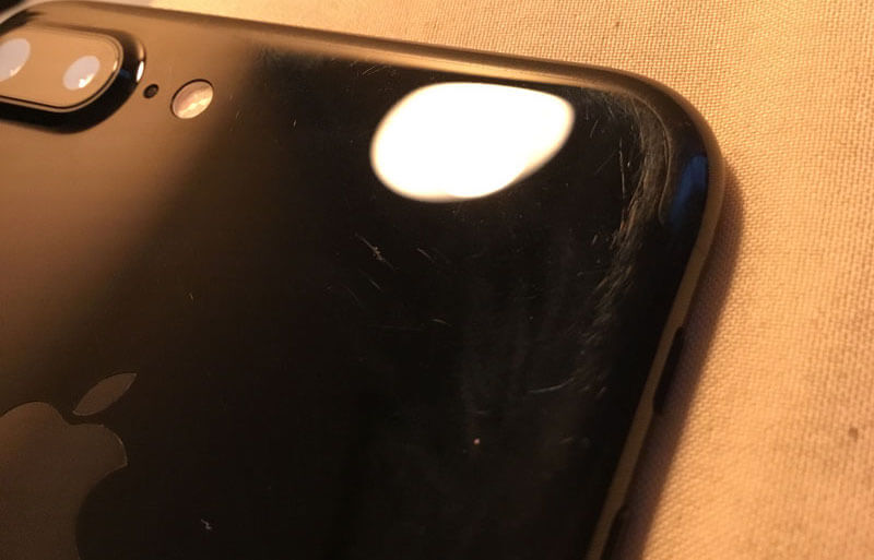 iphone 7 plus scratch