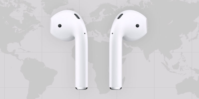 locate lost airpods