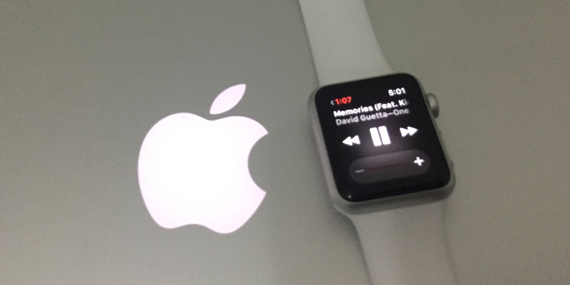 transfer music from iphone to iwatch
