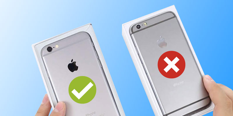 official photos 0f7f7 a7ad6 Ultimate Guide To Know if Your iPhone is Original or Fake