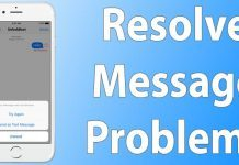 resolve message problems