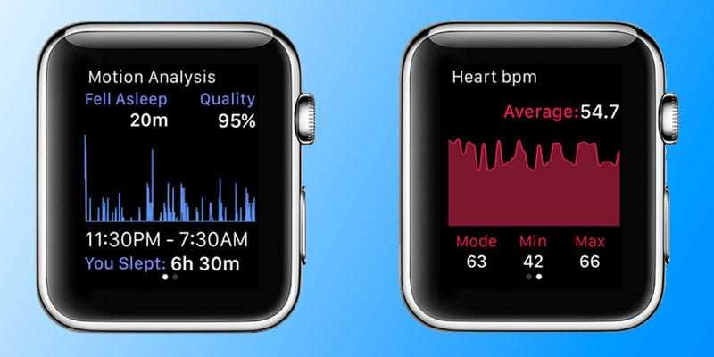 track sleep with apple watch