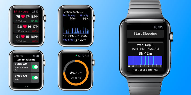 sleep tracking apps for apple watch
