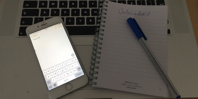 sync notes from iphone to mac