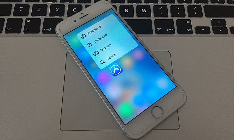 3d touch tweak for iphone