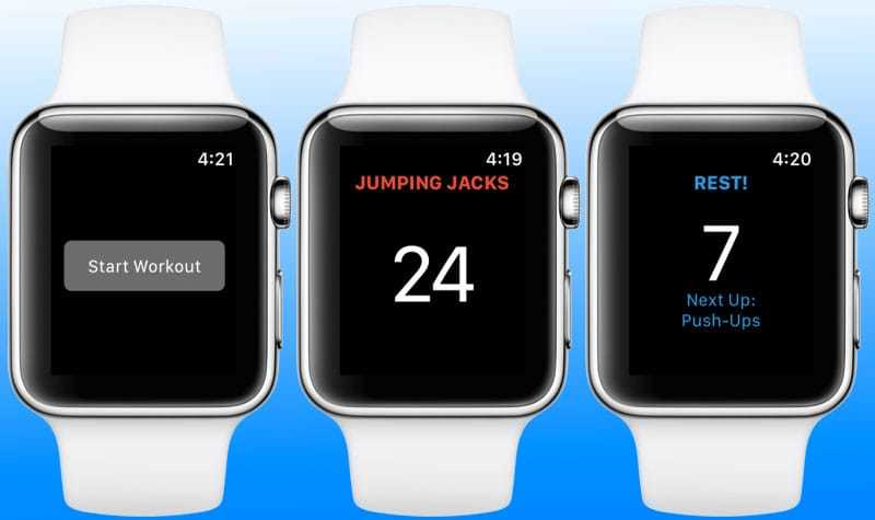 workout app for iwatch