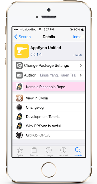 appsync for ios 10.2
