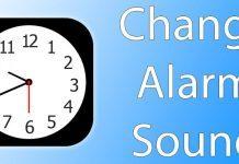 change alarm sound ios