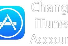 change itunes account