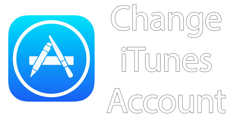 change itunes account on iphone