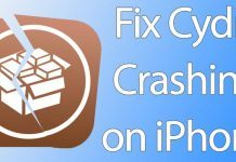 cydia crashing iphone
