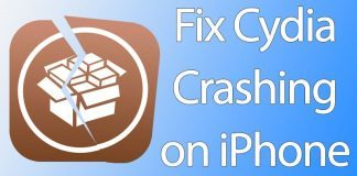 cydia crashing iphone