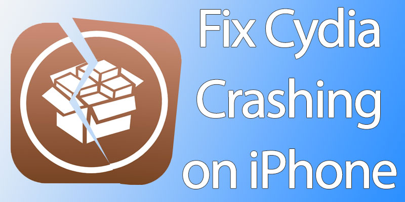 cydia crashing on startup