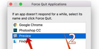 force quit app mac