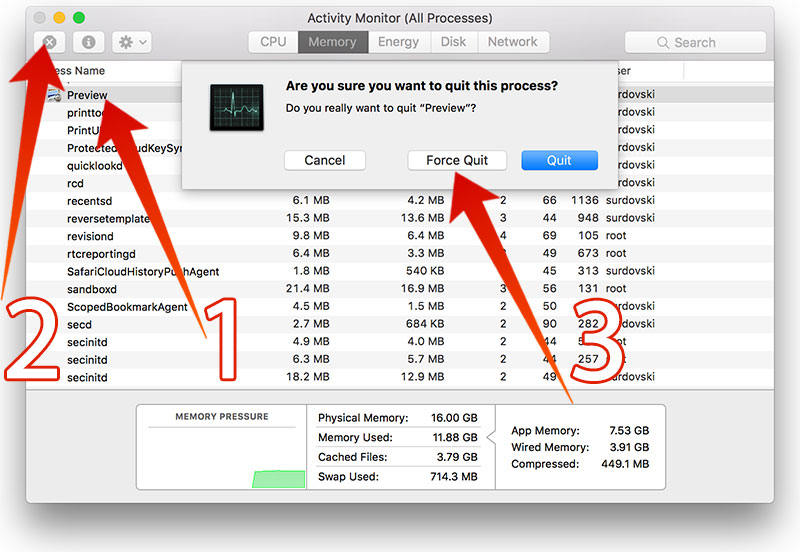How to Fix 'The Application is not Open Anymore' Error on Mac