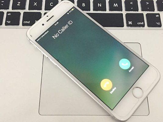 block no caler id on iphone