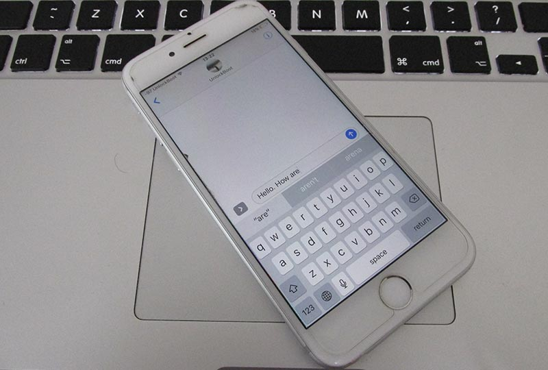 enable quicktype on iphone
