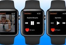 sworkit iwatch app