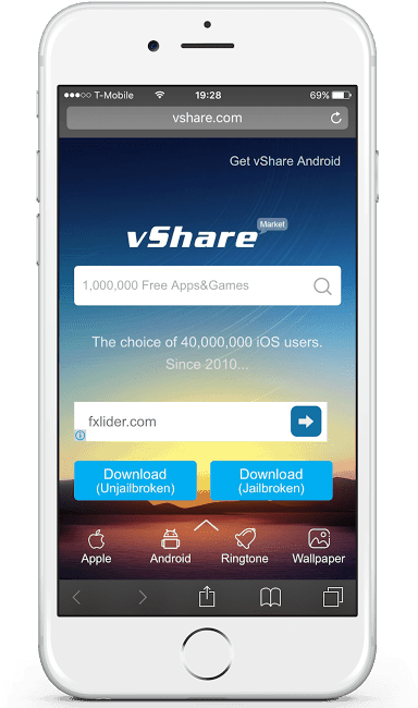 download vshare app