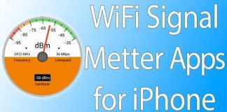 wifi metter app iphone