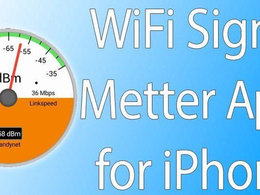 wifi metter app iphone